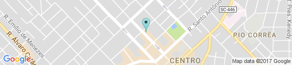 Google Map of Avenida Getúlio Vargas, 312 criciuma